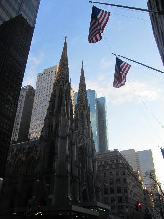 New York, NY: view of St. Patrick's