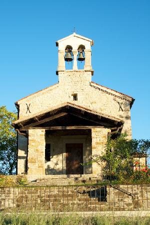 Agriturismo L'Uva e le Stelle: Chapel next to the Agriturismo