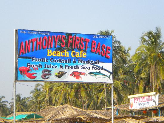 Anthonys First Base Beach Shack: Anthonys first base