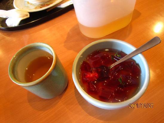 Mugunfa: コーン茶も絶品! 寒天も自家製 最高