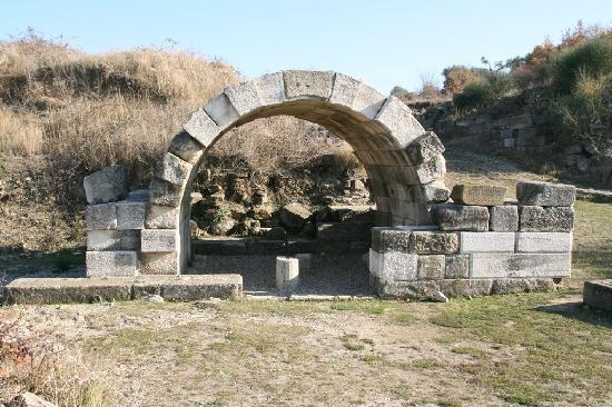 Apollonia: auf der Agora