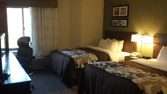 Sleep Inn & Suites of Lake George: Standard room with two queen beds