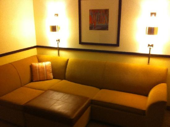 Hyatt Place Atlanta Airport - South: Couch