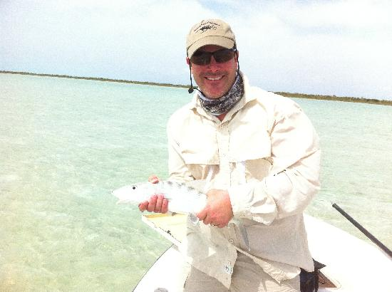 Andros Island Bonefishing Club: First Bone!!