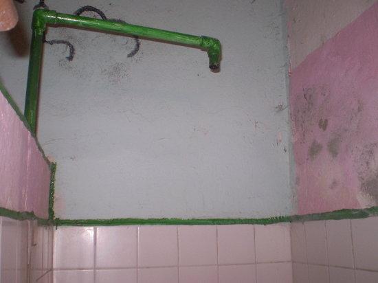 Hotel Miramar:                   my shower