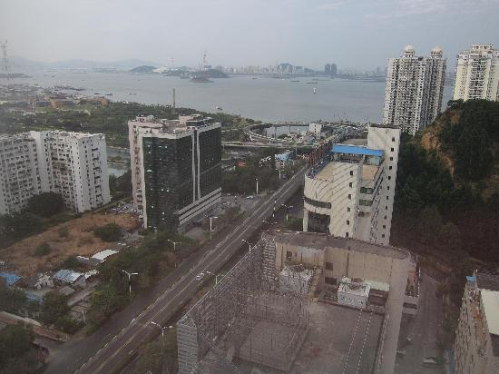 Pan Pacific Xiamen: View from the room
