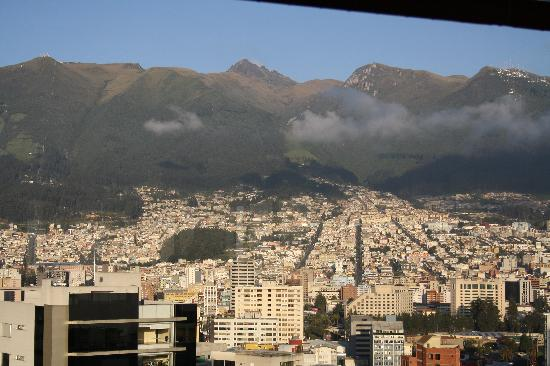 Hotel Quito: View from rooftop restaurant