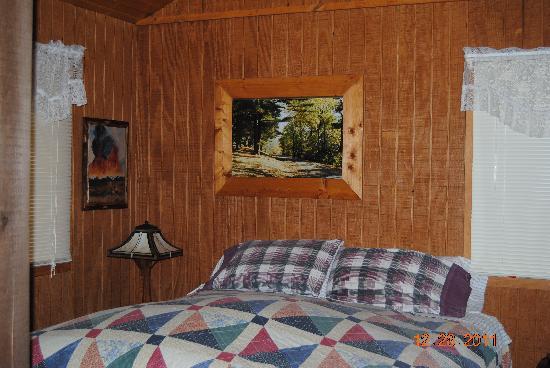 The Nest at Palisades Cabins: Good Night's Sleep