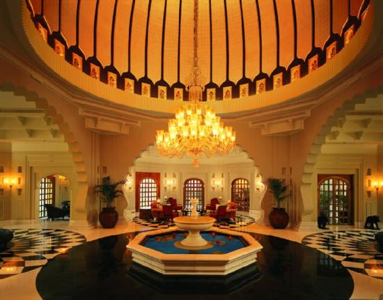 The Oberoi Udaivilas: Lobby view