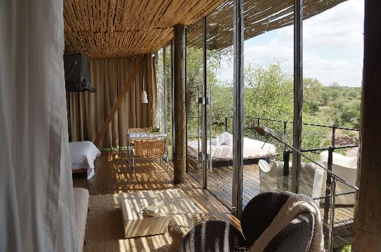 Singita Lebombo Lodge: our room