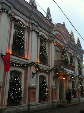 Café Pushkin: facade