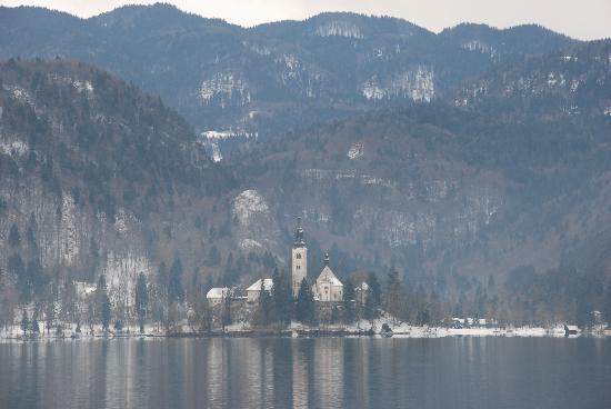 Bled, Slowenien: l'isola
