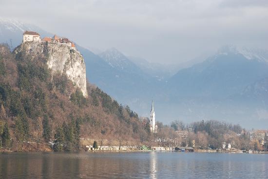 Bled, Slowenien: il castello