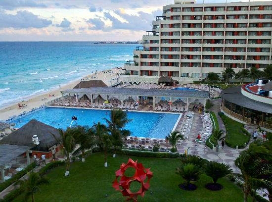 Crown Paradise Club Cancun: View from our room