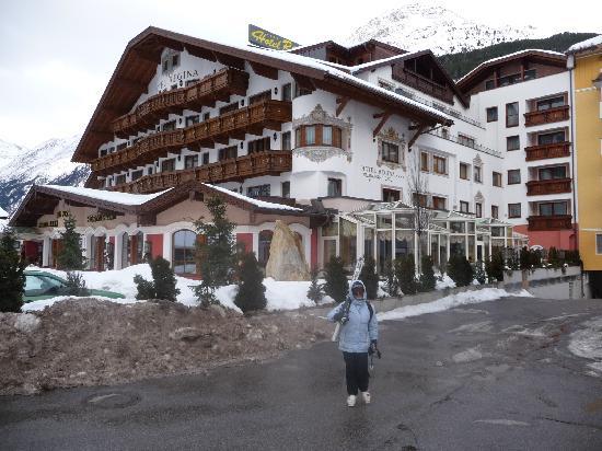 Hotel Regina: ganz unten
