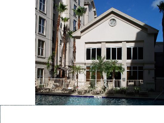 Homewood Suites Orlando-International Drive/Convention Center: pool,very samll area to seat