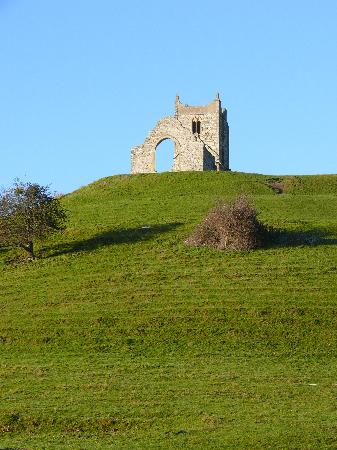 Burrow Mump : The long climb up