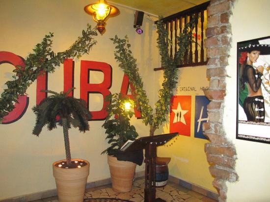 Havana Restaurant: l'ingresso del locale