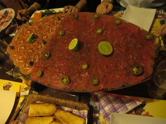 Havana Restaurant: lo spettacolare carpaccio, due terzi di manzo, un terzo di vitella