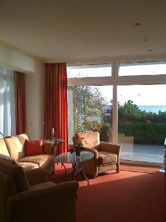 Hotel Strandidyll: wohnraum suite 191