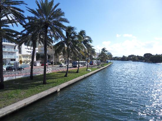Hotel Riu Plaza Miami Beach Indian Creek Just Across The Road From
