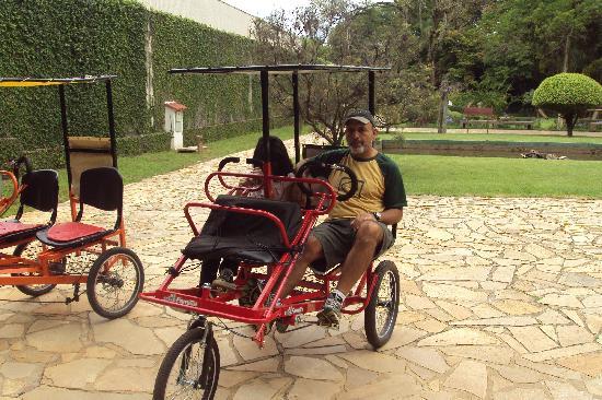 São Lourenço, MG: um passeio f¡de triciclos, relaxante e os paisagens lindos.