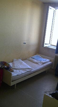 Rezidence Topolova : tak wygladaja lozka w pokoju 3 osobowym,hehe