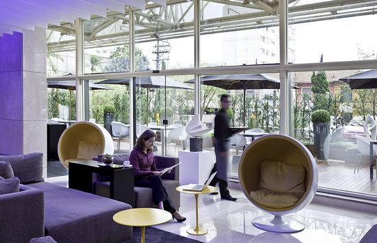Pullman Sao Paulo Ibirapuera: Lobby e Terraço