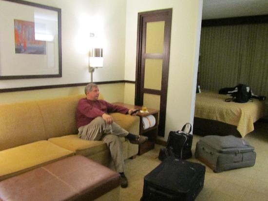 Hyatt Place Nashville Airport: living area