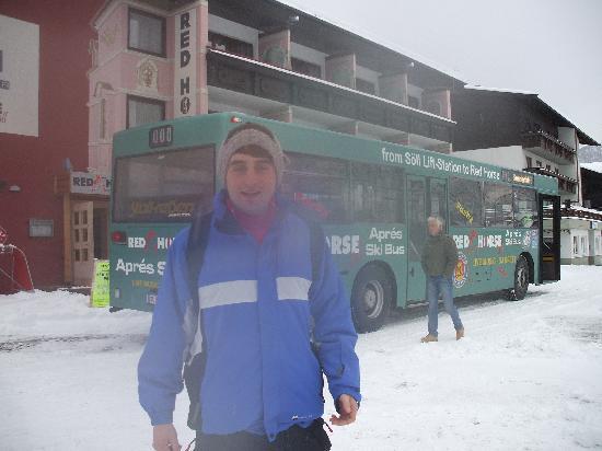 Hotel Rubin: Apres ski