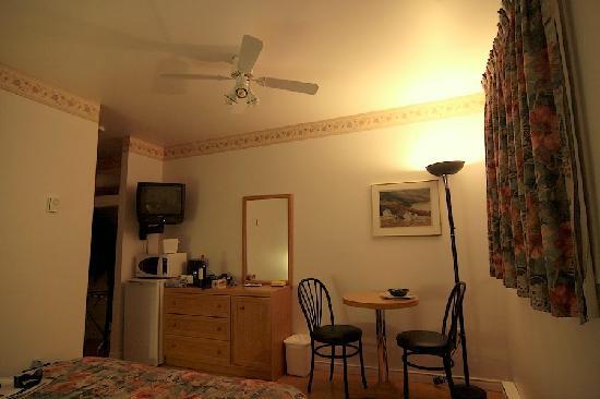 Motel des Cascades : la chambre 106