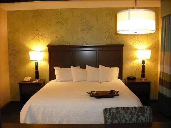 Hampton Inn & Suites Exeter: King bed / Room 333