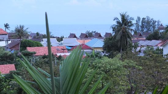 Lamai Buri Resort: Aussicht vom Balkon