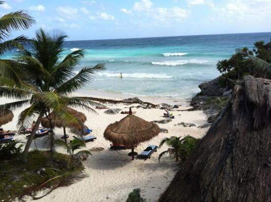 Hotel Cabanas Luna Maya : view