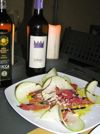 Da Pasquale : Oil, Wine, Food and bread, Heaven!