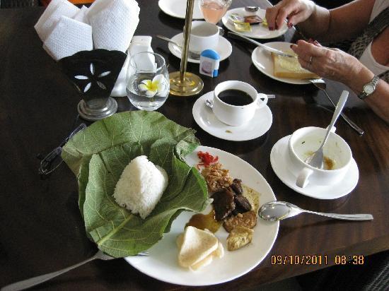 Hotel Prima: Makan pagi(sedaaaap)