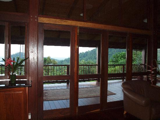 Cape Tribulation Sanctuary : Living Area