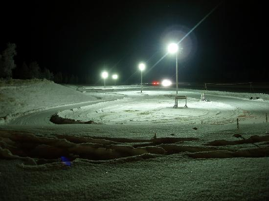 Action Park: The ice karting track