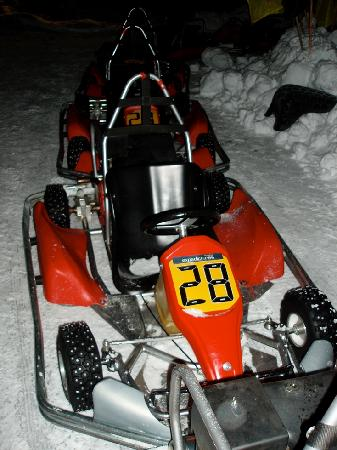 Action Park: The ice-karts!
