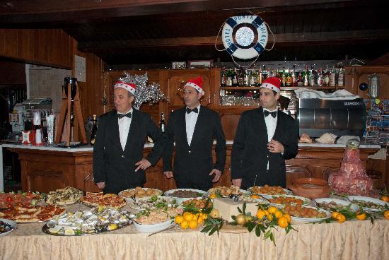Punta Chiarito Resort Hotel Ristorante: Gli antipasti del cenone