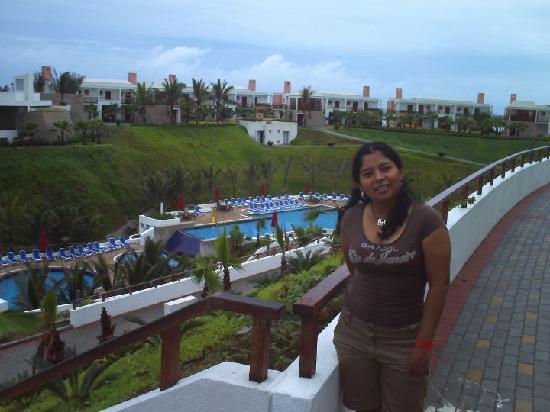Mompiche, Ekuador: Vista maravillosa