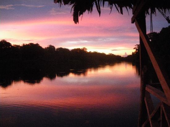 Reserva Natural Marasha : Sunset