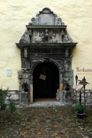 Wasserschloss Westerburg: eingang