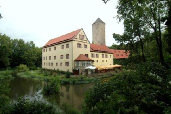 Wasserschloss Westerburg: außenansicht