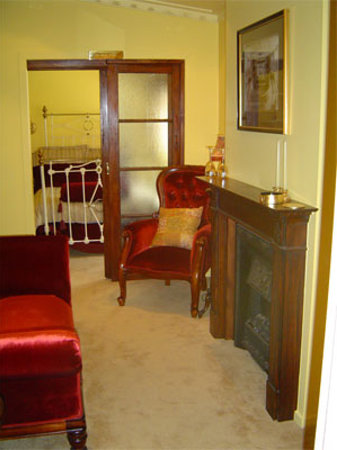 Theatre Royal - Back Stage B&B: Upstairs Living, bedroom 1 of 2