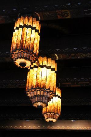 Scarab Club: ceiling second floor