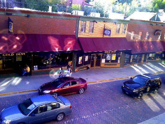 Hickok's Hotel & Gaming: View from our room