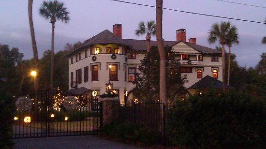 DeLand, Floride : Christmas at the Stetson Mansion