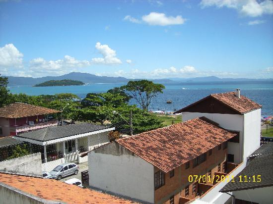 Canasvieiras, SC: vista desde el balcon