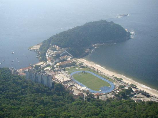 Pao de Acucar: vista da Prais do Forte de São João